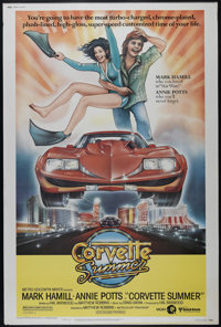 """Corvette Summer (MGM, 1978). Poster (40"""" X 60""""). Comedy. Directed by Matthew Robbins. Starring Mark Hamill, An..."""