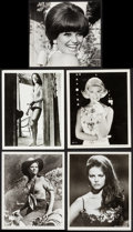 "Movie Posters:Rock and Roll, Claudia Cardinale & Others Lot (1960s-1970s). Photos (8) (8"" X10"", 8.25"" X 10"", & 8"" X 10.25""), Trimmed Photo (8.25"" X9.25... (Total: 10 Items)"