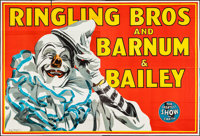 """Circus Poster (Ringling Bros. and Barnum & Bailey, 1945). Eight Sheet (79.5"""" X 117.5""""). Miscellaneous..."""
