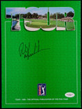 Golf Collectibles:Autographs, Phil Mickelson Signed PGA Tour Program. ...