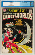 Silver Age (1956-1969):Science Fiction, Showcase #17 Adventures on Other Worlds (DC, 1958) CGC GD+ 2.5 Cream pages....