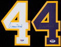 Basketball Collectibles:Others, Jerry West Signed No. 4 Lot of 2....