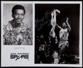 Basketball Collectibles:Photos, 1975-76 George Gervin Signed Team Issued Photograph....