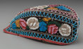 American Indian Art:Beadwork and Quillwork, An Iroquois Beaded Cloth Glengarry-Style Cap...