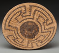 American Indian Art:Baskets, A Pima Coiled Tray ...