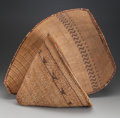 American Indian Art:Baskets, Two Paiute Twined Basketry Items ... (Total: 2 )
