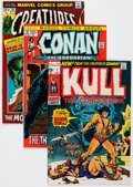 Bronze Age (1970-1979):Miscellaneous, Comic Books - Assorted Bronze Age Sword and Sorcery Comics Group of22 (Various Publishers, 1970s) Condition: Average NM-.... (Total:22 Comic Books)