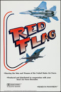 "Movie Posters:Documentary, Red Flag & Other Lot (U. S. Air Force, 1980s). One Sheet (27"" X 41"") and Uncut Pressbook (12 Pages, 13.25"" X 18""). Documenta... (Total: 2 Items)"