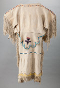 American Indian Art:Beadwork and Quillwork, A Kiowa Girl's Dress. c. 1910...