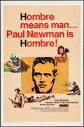"""Movie Posters:Western, Hombre (20th Century Fox, 1966). One Sheet (27"""" X 41""""). Western....."""