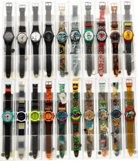 Swatch Watch Collection, 584 Watches, 1983 to 1998 To Be Sold As A Single Lot