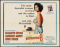 """Movie Posters:Drama, Butterfield 8 (MGM, 1960). Half Sheet (22"""" X 28"""") style A. Drama.. ..."""