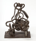 Bronze:Contemporary, Jacques Lipchitz (French, 1891-1973). Melancholy, 1928-1930.Bronze with brown patina (unique). 11-1/2 x 8-3/4 x 6-1/2 i...