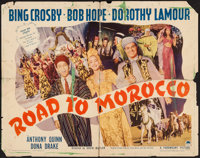 """Road to Morocco (Paramount, 1942). Half Sheet (22"""" X 28"""") Style B. Comedy"""