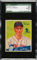 Baseball Cards:Singles (1930-1939), 1934 Goudey Bill Werber #75 SGC 92 NM/MT+ 8.5 - The Finest SGCExample! ...