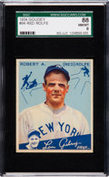 Baseball Cards:Singles (1930-1939), 1934 Goudey Red Rolfe #94 SGC 88 NM/MT 8 - Pop One, One Higher....