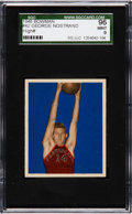 Basketball Cards:Singles (Pre-1970), 1948 Bowman George Nostrand #42 SGC 96 Mint 9 - Pop One, HighestSGC Example! ...