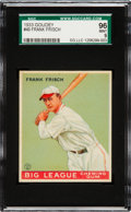 Baseball Cards:Singles (1930-1939), 1933 Goudey Frank Frisch #49 SGC 96 Mint 9 - Pop One, None Higher!...