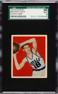 Basketball Cards:Singles (Pre-1970), 1948 Bowman Arnie Risen #58 SGC 96 Mint 9 - The Finest SGC Example!...