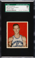 Basketball Cards:Singles (Pre-1970), 1948 Bowman Horace McKinney #46 SGC 96 Mint 9 - Pop One, The Highest SGC Example! ...