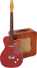 Musical Instruments:Electric Guitars, 1958 Danelectro U1 Coral Solid Body Electric Guitar and Series D Special Amp.... (Total: 2 Items)