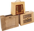 Musical Instruments:Amplifiers, PA, & Effects, 1950's Gibson BR-9/GA-9 Tan Guitar Amplifier Lot of 3.... (Total: 3Items)