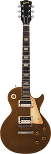 Musical Instruments:Electric Guitars, 1958 Gibson Les Paul Standard Goldtop Solid Body Electric Guitar,Serial # 8 2794....