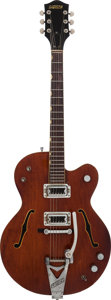 Musical Instruments:Electric Guitars, 1964 Gretsch Tennessean Burgundy Semi-Hollow Body Electric Guitar,Serial # 70109....