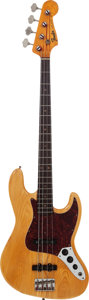 Musical Instruments:Bass Guitars, 1964 Fender Jazz Bass Natural Electric Bass Guitar, Serial # L21860....