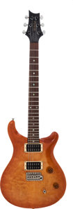 Musical Instruments:Electric Guitars, 1990's Paul Reed Smith (PRS) CE Sunburst Solid Body ElectricGuitar, Serial # 971059.. ...