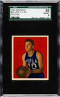 Basketball Cards:Singles (Pre-1970), 1948 Bowman Joe Fulks #34 SGC 88 NM-MT 8 - Pop One, None Higher....
