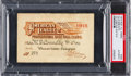 Baseball Collectibles:Others, 1915 American League Season Pass, PSA Authentic....