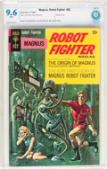 Silver Age (1956-1969):Science Fiction, Magnus Robot Fighter #22 (Gold Key, 1968) CBCS NM+ 9.6 White pages....