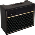 Musical Instruments:Amplifiers, PA, & Effects, Circa 1968 Vox Pacemaker Black Guitar Amplifier....
