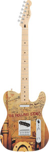 Musical Instruments:Electric Guitars, 2013 Fender Rolling Stones Beggar's Banquet Telecaster Solid Body Electric Guitar, Serial # MX13398810....