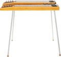Musical Instruments:Lap Steel Guitars, 1950's Gibson Console Grande Double Eight Natural Lap SteelGuitar....