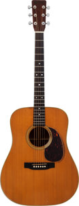 Musical Instruments:Acoustic Guitars, 1971 Martin D-28 Natural Acoustic Guitar, Serial # 278337....