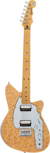Musical Instruments:Electric Guitars, 2001 Reverend Rocco Natural Birdseye Maple Solid Body ElectricGuitar, Serial # 01693....