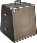 Musical Instruments:Amplifiers, PA, & Effects, Circa 1968 Standel PA-30 Black P.A. System, Serial # 5741-2....