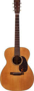 Musical Instruments:Acoustic Guitars, 1935 Martin 000-18 Natural Acoustic Guitar, Serial # 60737....
