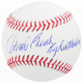 "Autographs:Bats, Johnny Bench ""Big Red Machine"" Single Signed Baseball...."