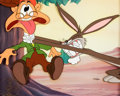 "Animation Art:Limited Edition Cel, Bugs Bunny and Elmer Fudd ""The Old Gray Hare"" Limited Edition Cel(Warner Bros., 1990)...."
