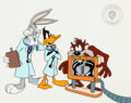 Animation Art:Limited Edition Cel, Bugs Bunny, Daffy Duck, and the Tasmanian Devil Limited Edition Cel(Warner Bros., 1993)....