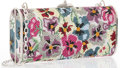 "Luxury Accessories:Bags, Judith Leiber Full Bead Multicolor Crystal Floral MinaudiereEvening Bag . Excellent Condition . 5.5"" Width x 3""Heigh..."