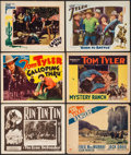 """Movie Posters:Serial, The Lone Defender & Others Lot (Mascot, 1930). Title Lobby Card & Lobby Cards (5) (11"""" X 14"""") Episode 2 --""""Cornered."""" Serial... (Total: 6 Items)"""