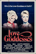 "Movie Posters:Adult, Love Goddesses & Other Lot (Gail, 1981). One Sheet (27"" X 41"")& Video Poster (24.5"" X 37.5""). Adult.. ... (Total: 2 Items)"