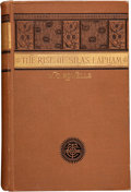 Books:First Editions, William D[ean] Howells. The Rise of Silas Lapham. Boston:Ticknor and Company, 1885....