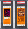 Football Collectibles:Tickets, 1973 and 1974 Super Bowl VII and VIII Full PSA Graded Tickets (Miami Dolphins Victories)....