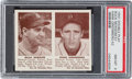 Baseball Cards:Singles (1940-1949), 1941 R330 Double Play Newsom/Greenberg #51/52 PSA NM-MT 8. ...