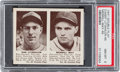 Baseball Cards:Singles (1940-1949), 1941 R330 Double Play Litwhiler/May #45/46 PSA NM-MT 8 - NoneHigher. ...